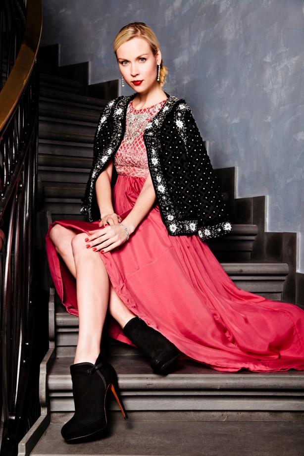Manoush Dress and Baldini Shoes