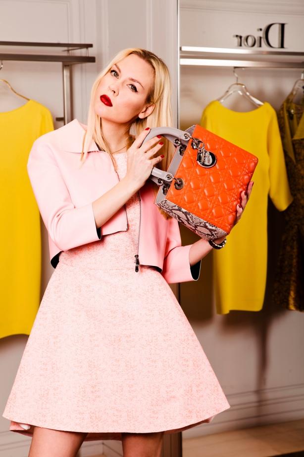 Dior Dress and Bag