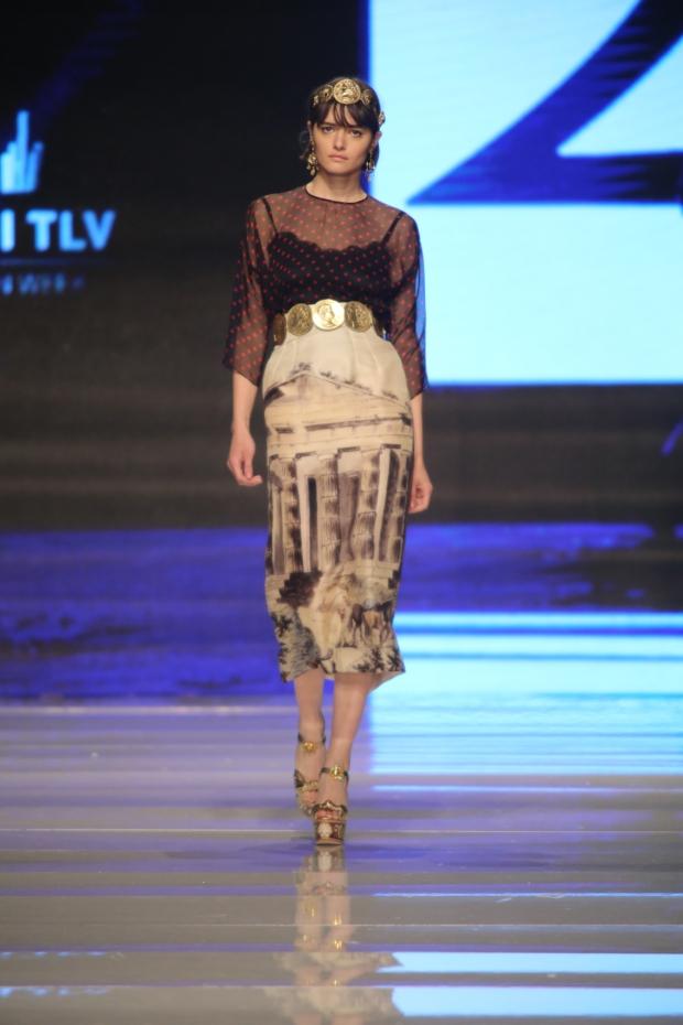 אמור גינדי שבוע האופנה 2014 amor