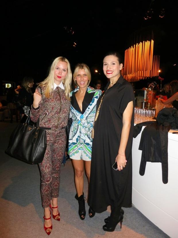 דנה אונגר אמור אלנה ראלף אירה סימונוב שבוע האופנה גינדי 2014
