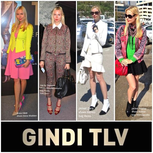 gindi fashion week 2014 ira simonov looks אירה סימונוב שבוע האופנה גינדי 2014