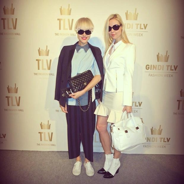 בלוגריות האופנה לינדה טול ואירה סימונוב