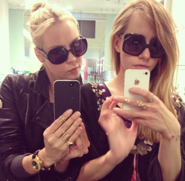 Fashion bloggers unite: Nastya Lisansky and I