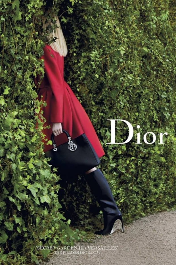 Dior secret garden versailles playing hide