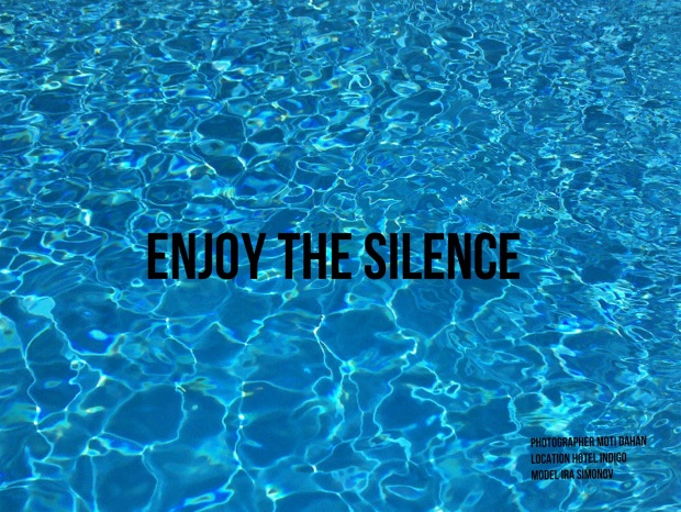 enjoy the silence underwater cover credits
