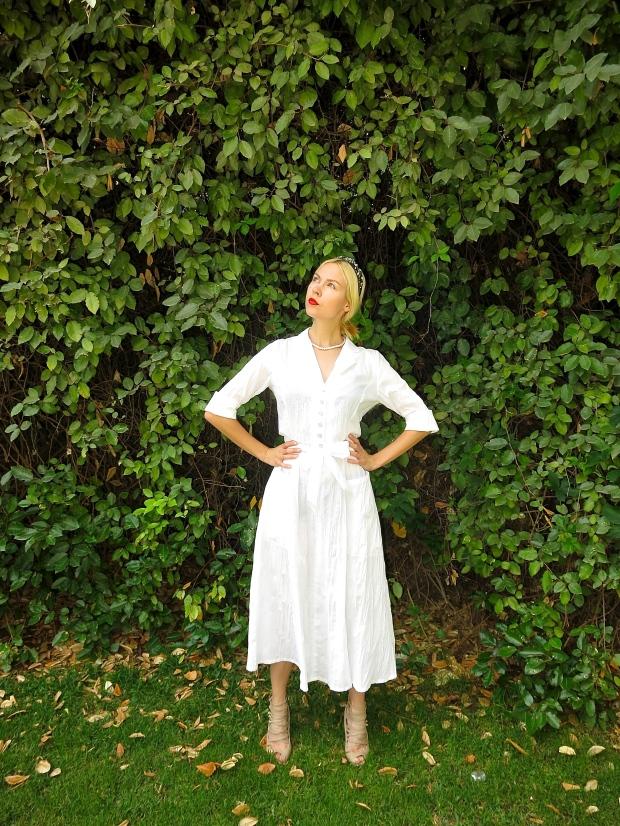 shavuot 2014 dorin frankfurt שבועות 2014 דורין פרנקפורט חגיגת שבועות לבן שמלה לבנה אירה סימונוב בלוג אופנה fashion blog