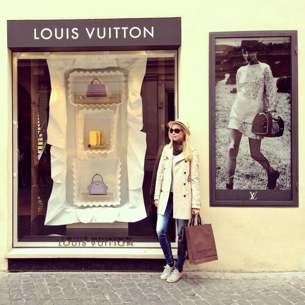 Louis Vuitton One Year Celebration Ira Simonov rome