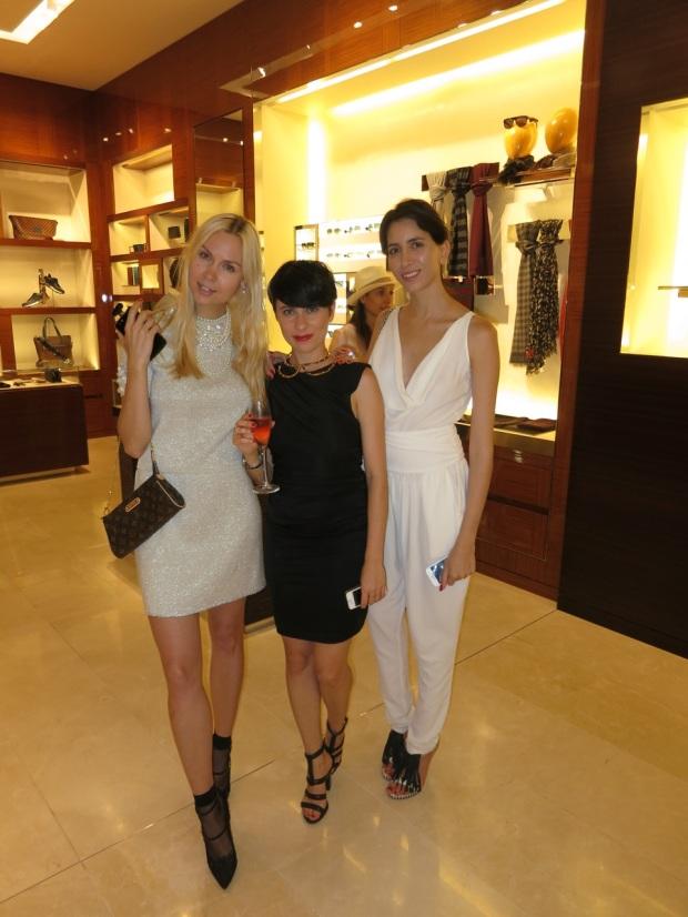 Louis Vuitton One Year Celebration Ira Simonov Roza Sinyanski Tal Shiry
