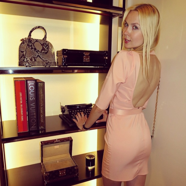 Louis Vuitton One Year Celebration Ira Simonov store opening throwback bring you sexyback