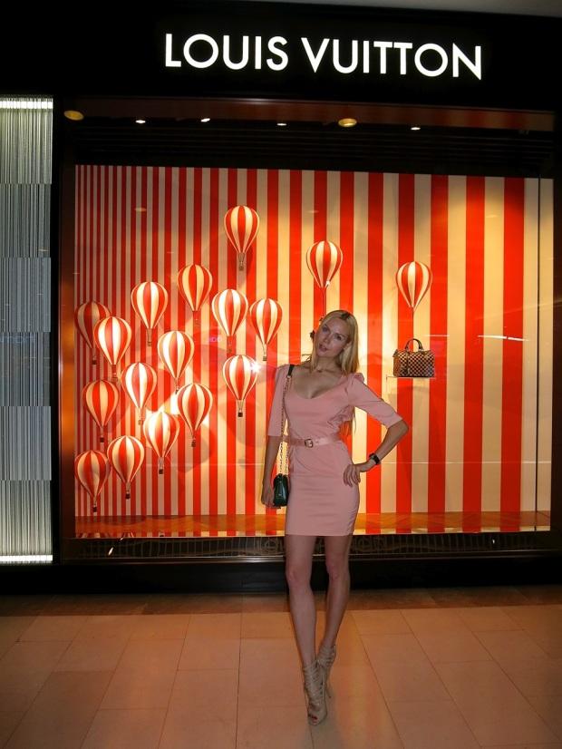 Louis Vuitton One Year Celebration Ira Simonov store opening throwback