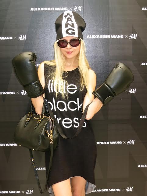 alexander wang x hm h&m ira simonov irasimonov couturistic fashion blog lifestyle אירה סימונוב אלכסנדר וונג boxing 5